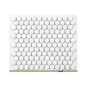Mosaik Hexa Vit Matt 2,3x2,5