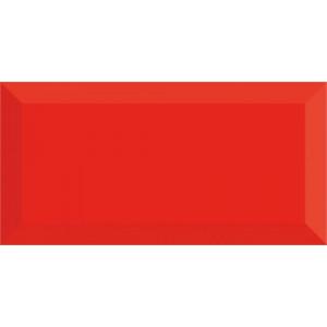 Metro Fasad 10x20 Röd Blank