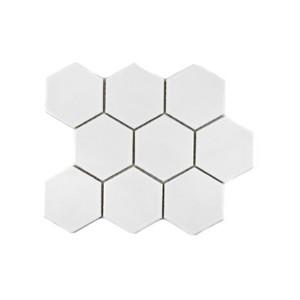 Mosaik Hexa White Gloss 9,5x11