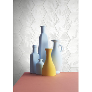 Hexa Wall White Gloss 17,3x15