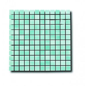 Glasmosaik Aqua 2.5x2.5