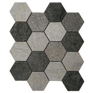 Mosaik Rockwall Hexa Dark...