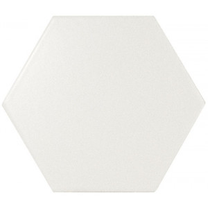 Scale Hexagon White 12,4x10,7