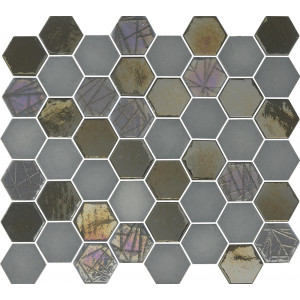 Mosaik Sixties Hexa Grey 5x4,3