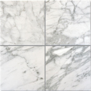 Bianco Carrara C Polerad 10x10
