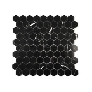 Mosaik Hexagon Nero...