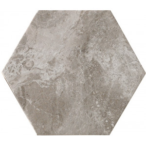 Bistrot Taupe Hexagon 21x18,2