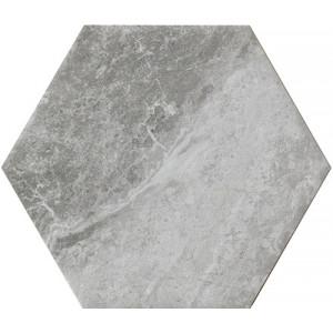 Bistrot Grey Hexagon 21x18,2