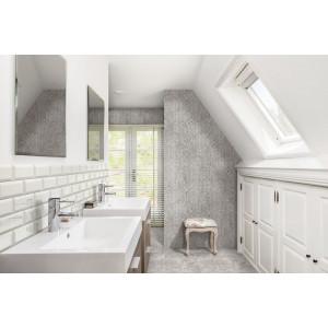 Betonsquare White Grey Mosaic