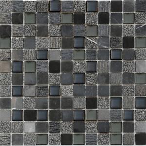 Mosaik Marble Glasmix Nero...
