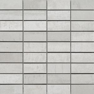 Corten Vit Mosaik 3x7