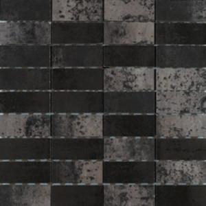 Corten Svart Mosaik 3x7