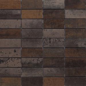 Corten Brons Mosaik 3x7